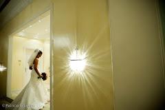 Foto do casamento de Luciene e Rodrigo. Confeitaria Colombo, Rio de Janeiro, RJ.