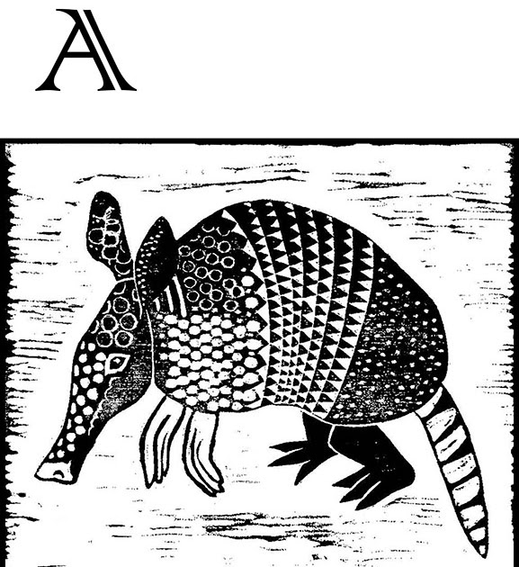 Black and White: The ABC's of Block Printing