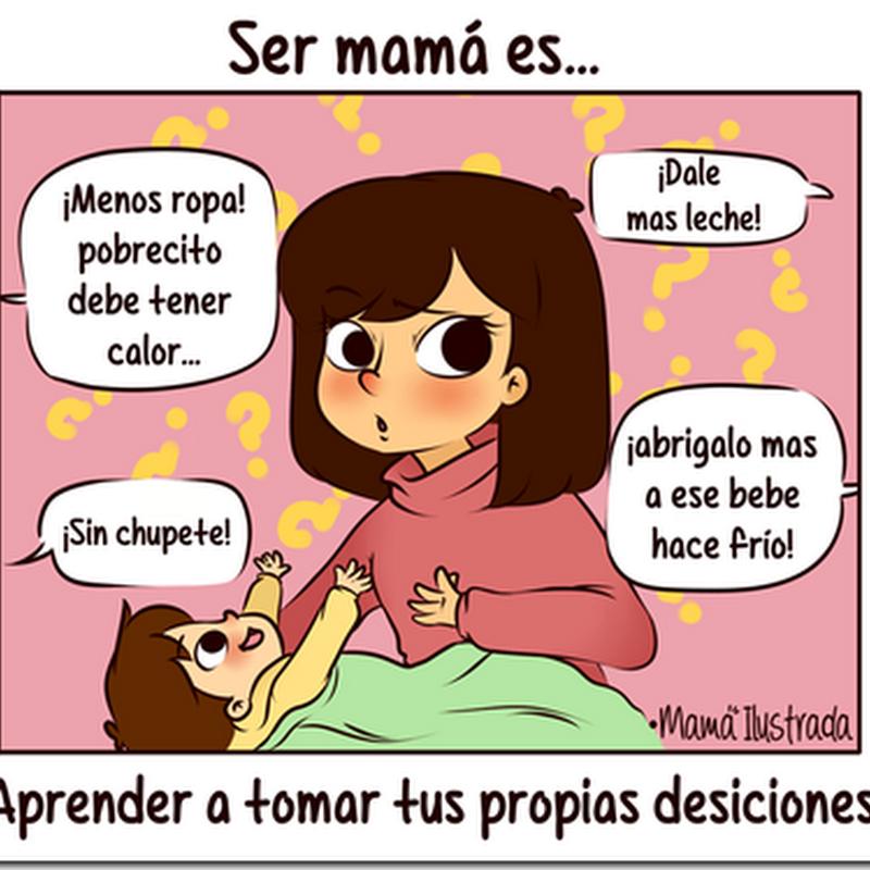 Chistes gráficos y humor de madres