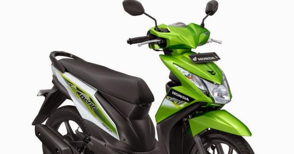 Modif Honda Beat Fi Hijau Putih