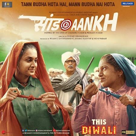 Poster Of Hindi Movie Saand Ki Aankh 2019 Full HD Movie Free Download 720P Watch Online