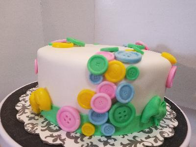 Baby Showerreveal Cake Button Bakery Jp