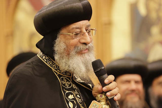 His Holiness Pope Tawadros II visit to St. Mark LA - _09A9242.JPG