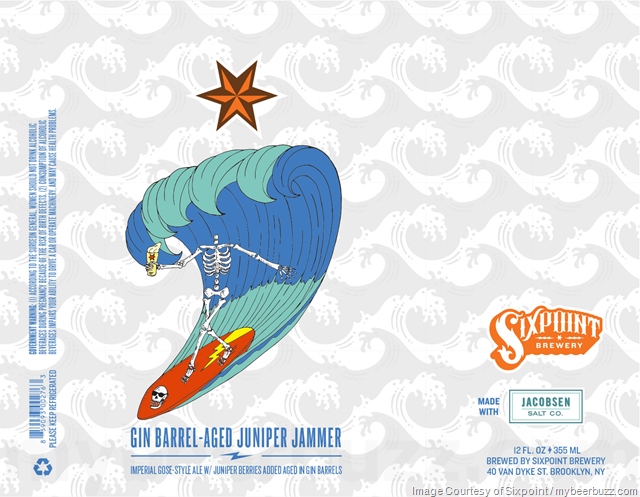 Sixpoint Adding Gin Barrel-Aged Juniper Jammer Cans