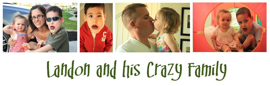 Landon and his crazy family
