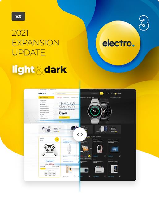 Electro Theme Design review