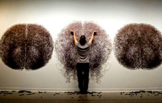 Tony Orrico   Body performance e visual art