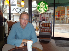 A Starbucks treat in Kumamoto waiting for the rain to pass before heading off to the castle