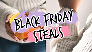 Black Friday Steals - YouTube Thumbnail Template
