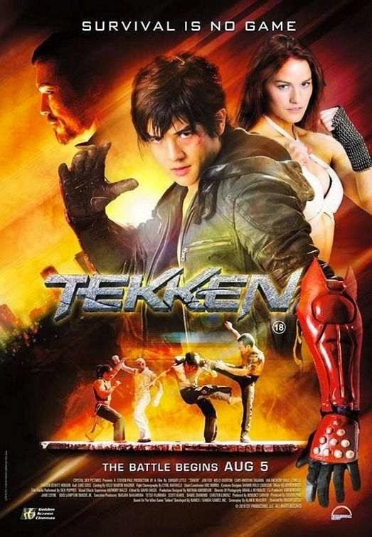 Poster Of Tekken (2010) Full Movie Hindi Dubbed Free Download Watch Online At Alldownloads4u.Com