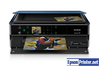 How to reset Epson Artisan 730 by program