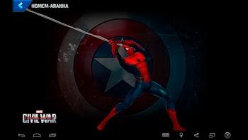 Homem-Aranha - Capitão América: Guerra Civil
