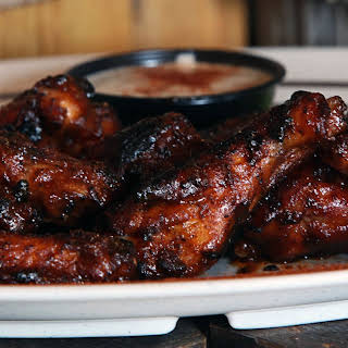 'Home-Schooled' BBQ Chicken Wings.