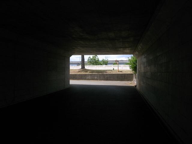 盛岡市トンネル四角