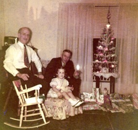 Christmas pics for 2018 - me & grandpas_1953