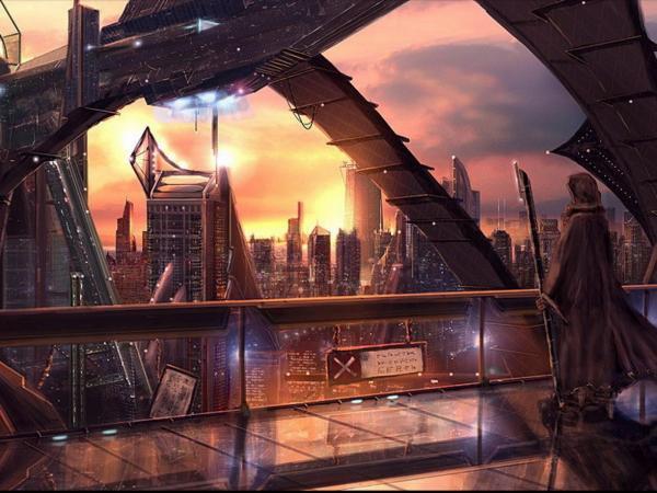 City Of Dark Star, Fiction 1