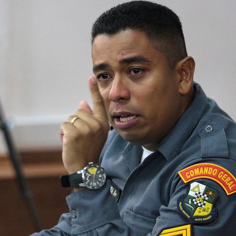 Após confissão, cabo diz temer pela vida e defesa pede proteção