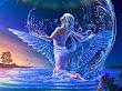 Water Magic Angel