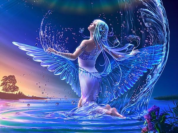 Water Magic Angel, Angels 3