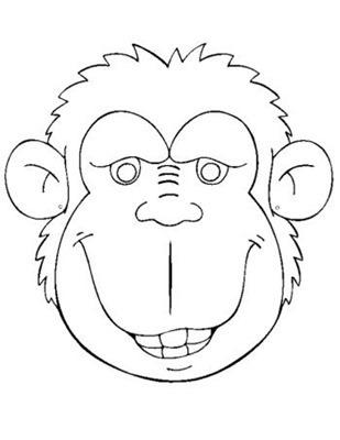 MONO 66 mascara de animales  para colorar (78)_thumb