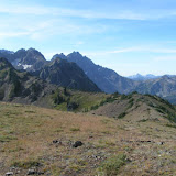 Alphabet Ridge, Warrior Peak, Constance Pass