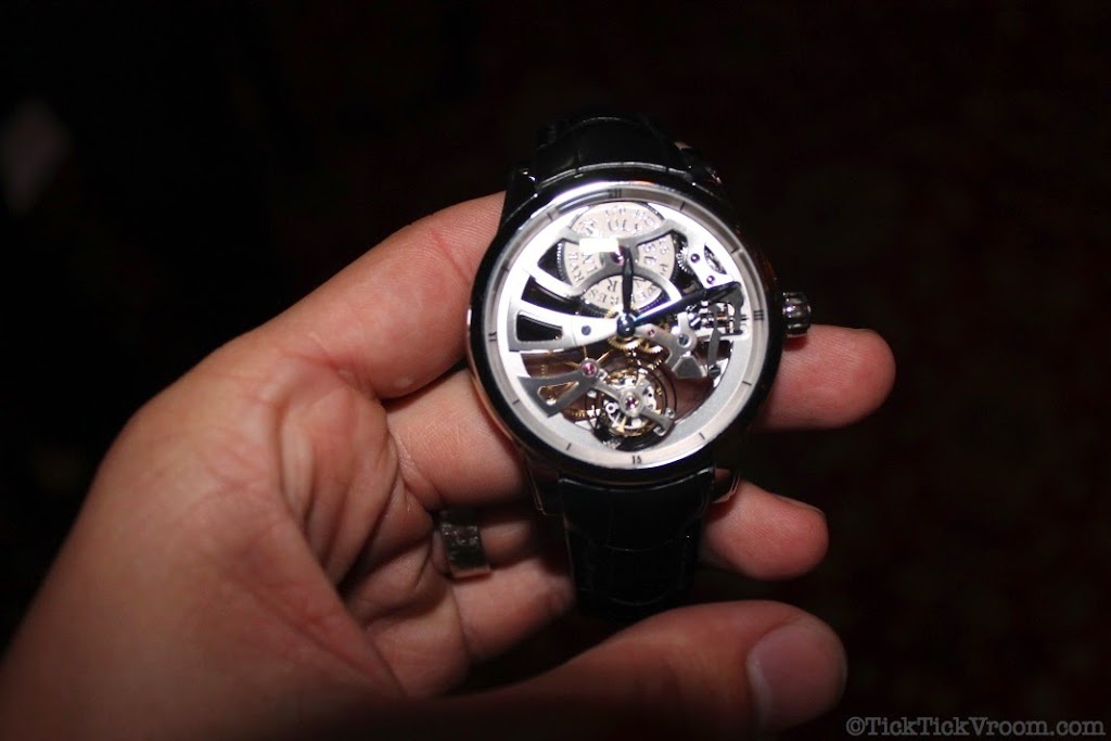 Ulysse Nardin Platinum 44 mm Skeleton Tourbillon 8621