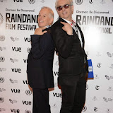 WWW.ENTSIMAGES.COM -  Timothy Hunt and Elliot Grove   arriving at      The 22nd Raindance Film Festival (I Origins) at  Vue Piccadilly, London September 24th 2014Opening gala for annual London-based independent film festival to promote film about two biologists who uncover evidence that may fundamentally change society as we know it.                                                 Photo Mobis Photos/OIC 0203 174 1069