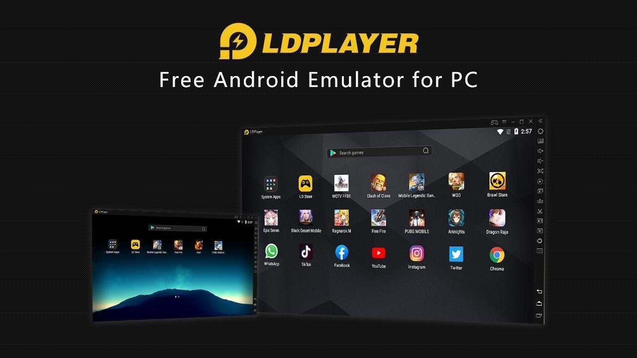 LDPlayer - أسرع وأخف محاكي أندرويد للكمبيوتر