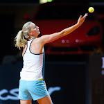 STUTTGART, GERMANY - APRIL 17 : Petra Kvitova in action at the 2016 Porsche Tennis Grand Prix