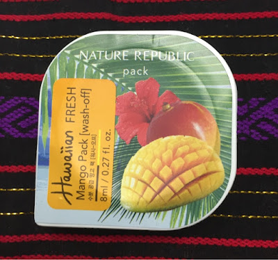 Im Test: Nature Republic – Hawaiian Fresh Mango Pack (wash-off)