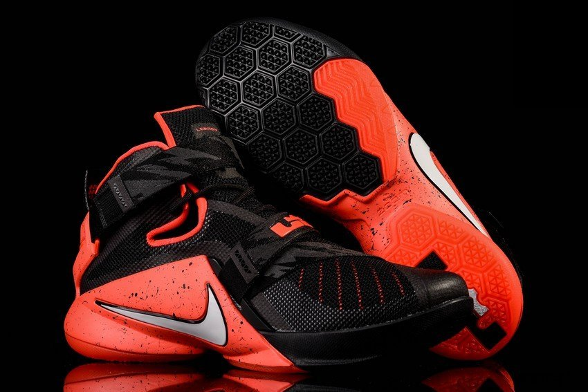 3604f063199b Nike Goes Premium for Black and Red LeBron Soldier 9 ...