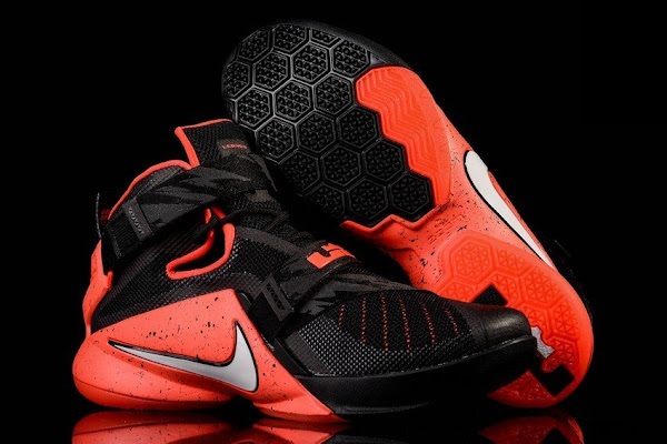 Nike Goes Premium for Black and Red LeBron Soldier 9