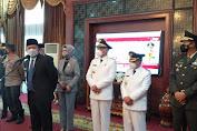 Bupati dan Wakil Bupati Pali Periode 2021-2024 Heri Amalindo-Soemarjono Resmi di Lantik