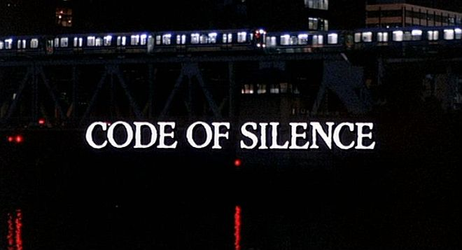 Code of Silence title screen