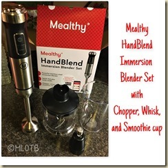 Mealth Immersion Blender Set