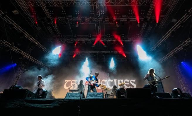 英倫indie樂團THE VACCINES釋放其粗獷的搖滾能量