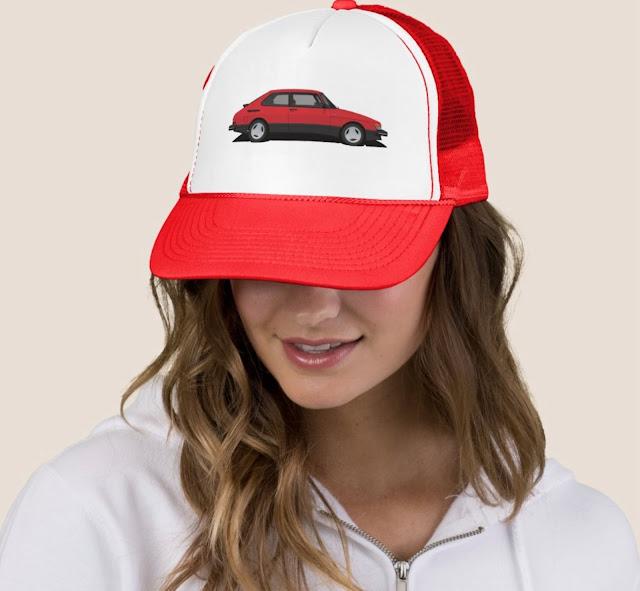 Saab 900 turbo trucking hat / cap
