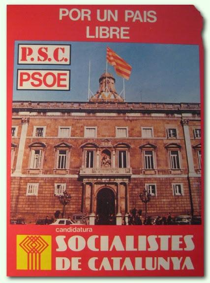 Propaganda PSC-PSOE 1977