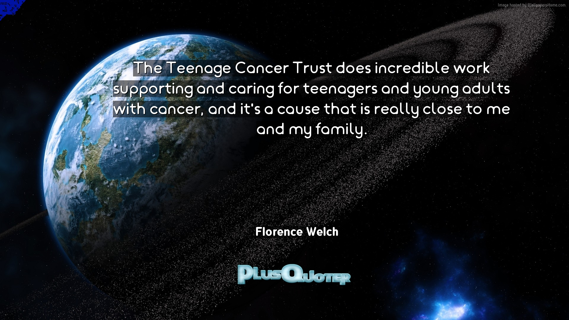 Inspirational Quotes For Young Adults The Teenage Cancer Trust Does Incredible Work Supporting And