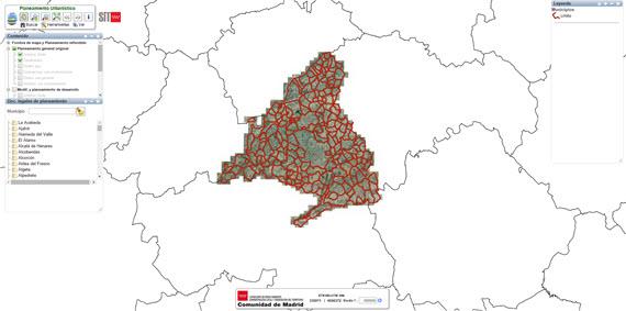 Nuevo Sistema de Información Territorial de la Comunidad de Madrid