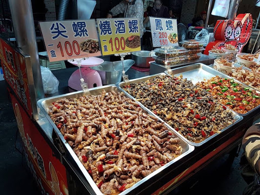 Fried bugs from Liuhe Night Market in Kaohsiung