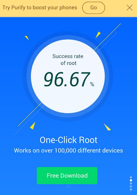 Ini Dia Cara Mudah Root Dan Unroot Hampir Semua Hape Dan OS Android Tanpa Pc Dengan Kingroot