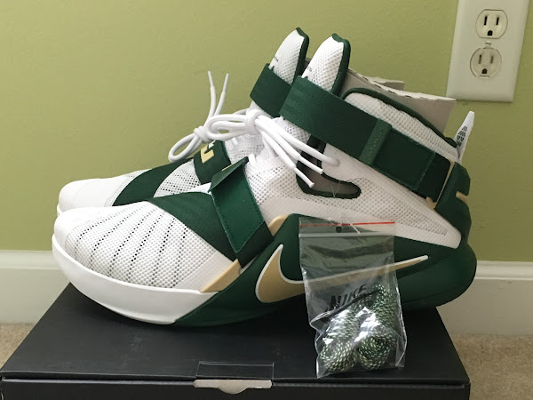 First Look at LeBron Soldier 9 SVSM Home PE