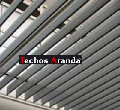 Techos aluminio Lebrija