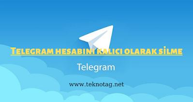 Telegram Hesabı Kalıcı Olarak Nasıl Silinir (2021)