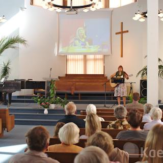 Seminaristid Kuressaare Siioni koguduses