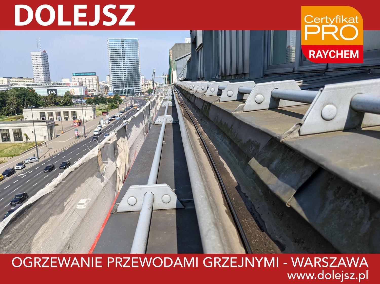 Ogrzewanie rynien i rur spustowych Warszawa