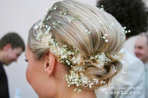 اجمل تسريحات شعر للعرائس و للسهره