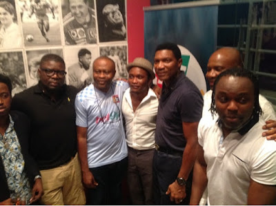 Fans Mingle With Ex-Super Eagles Stars, Entertainment Celebrities At Bet9ja Fans Night Out.