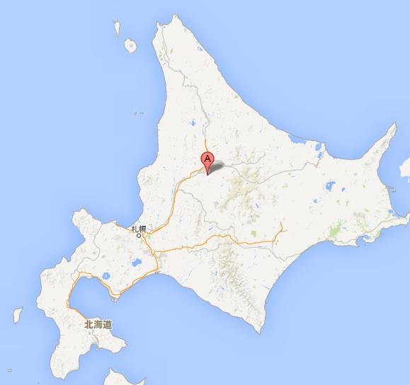 自家焙煎珈琲の店 ライフ・地図